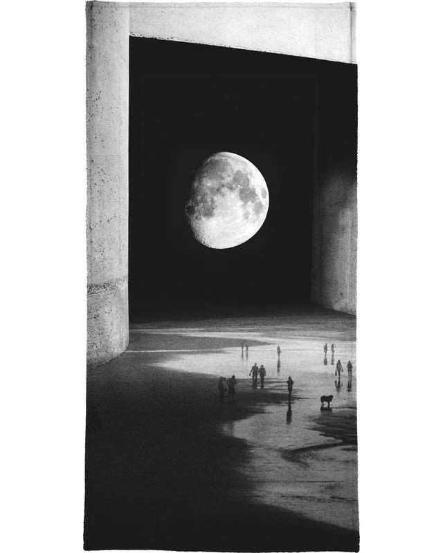 To the Moon Handtuch | Bad > Handtücher > Handtuch-Sets | Mehrfarbig