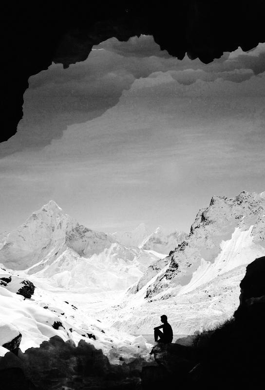 Snowy Isolation Alu Dibond Druck | Dekoration > Bilder und Rahmen > Poster | Mehrfarbig | Aluminium