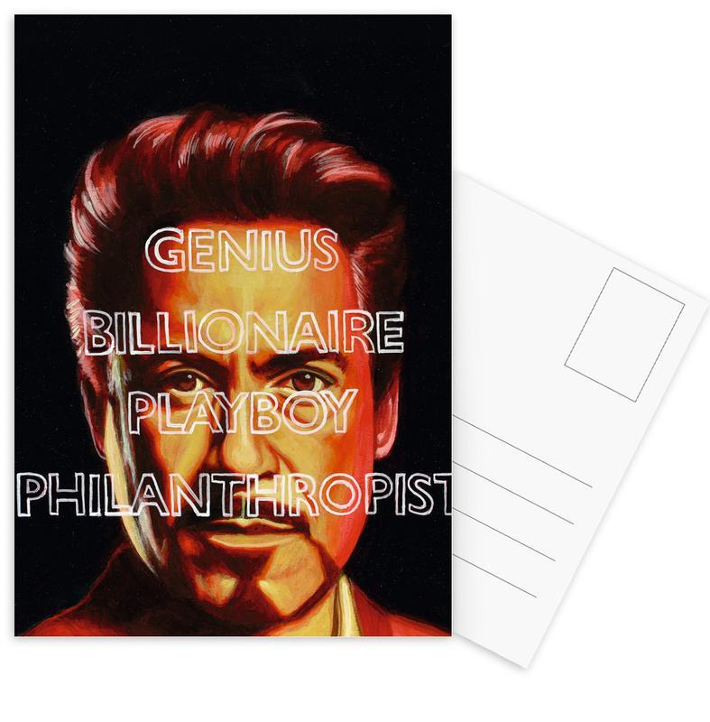 Tony -Postkartenset