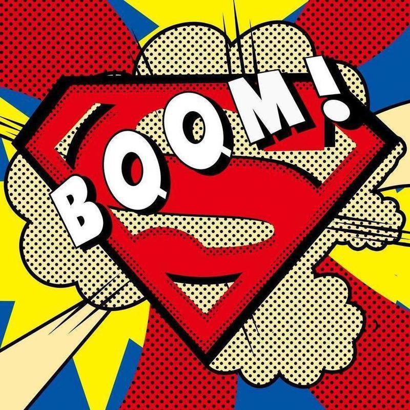 Boom! -Leinwandbild