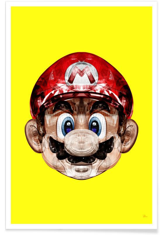 Super Plombier -Poster