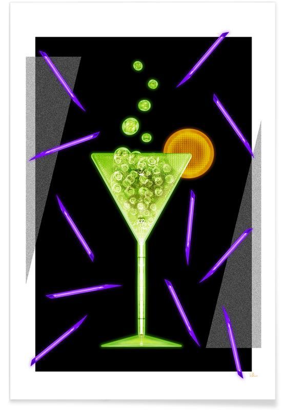 Acid Drink Premium Poster | Dekoration > Bilder und Rahmen > Poster | Mehrfarbig