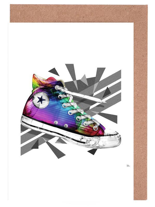 All Star of My Life Rainbow Grußkartenset