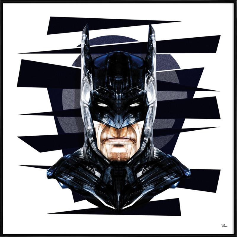 Dark Knight affiche encadrée