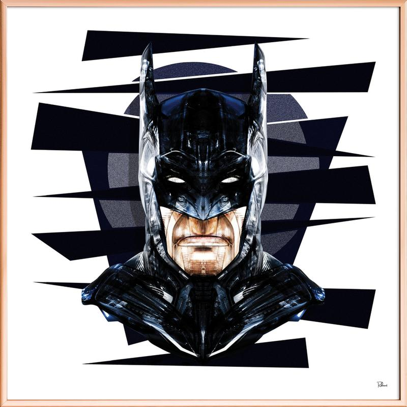 Dark Knight Poster im Alurahmen   Dekoration > Bilder und Rahmen > Poster   Mehrfarbig
