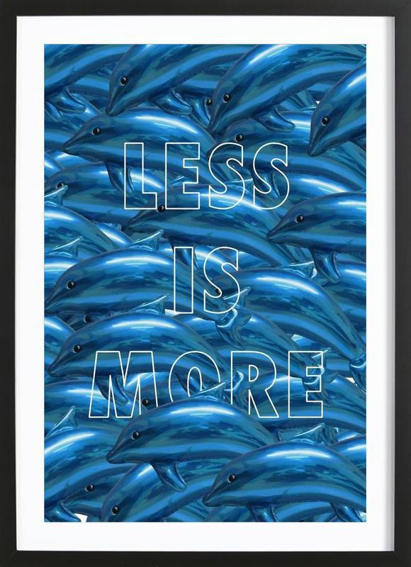 Less Is More Framed Print