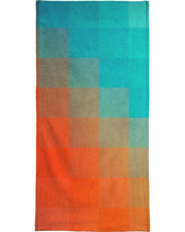 Beach Pixel Surface -Handtuch