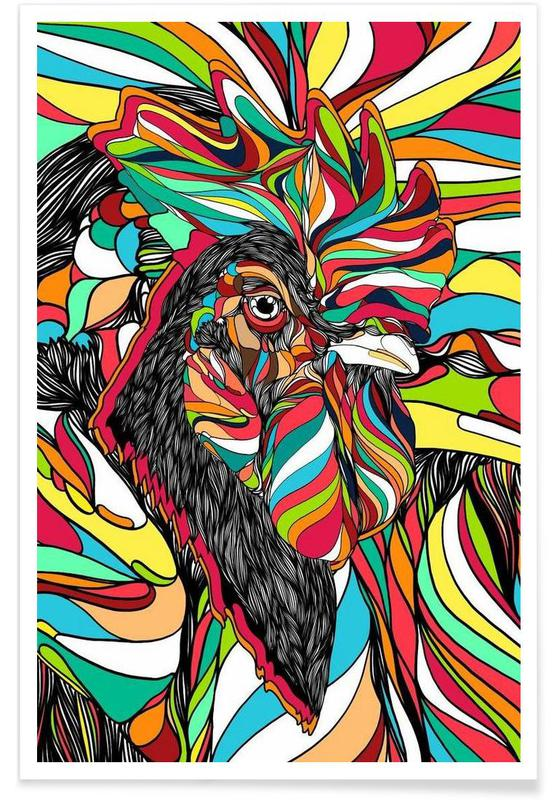 Tropical Cock affiche