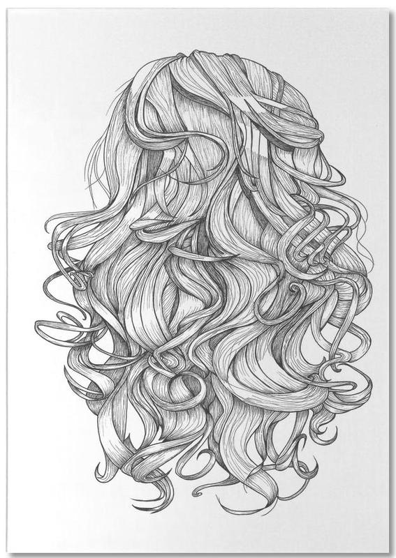 Perfect Curls Notepad