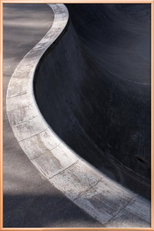 Bowl -Poster im Alurahmen