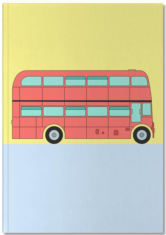 London Bus Tour Premium Notizbuch
