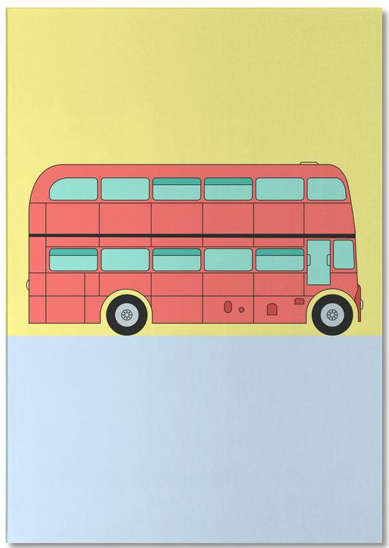 London Bus Tour Notizblock