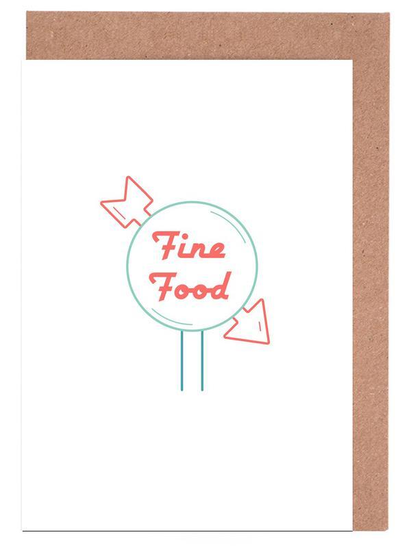 Fine Food Grußkartenset