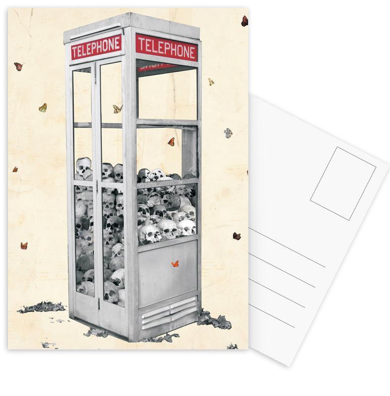 Collect Call Postcard Set