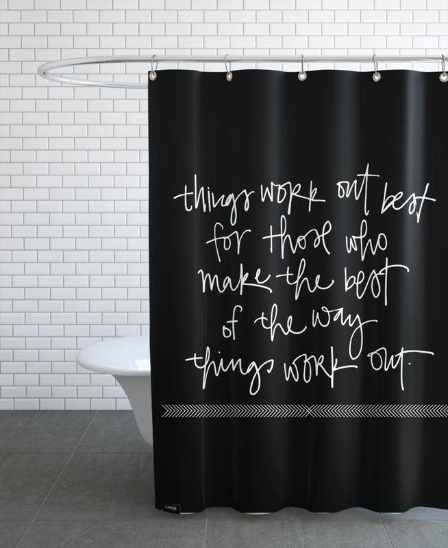 Things Work Out Shower Curtain