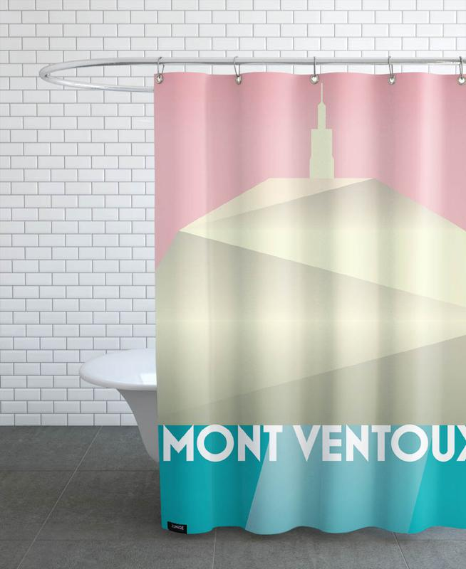 Mont Ventoux II Shower Curtain