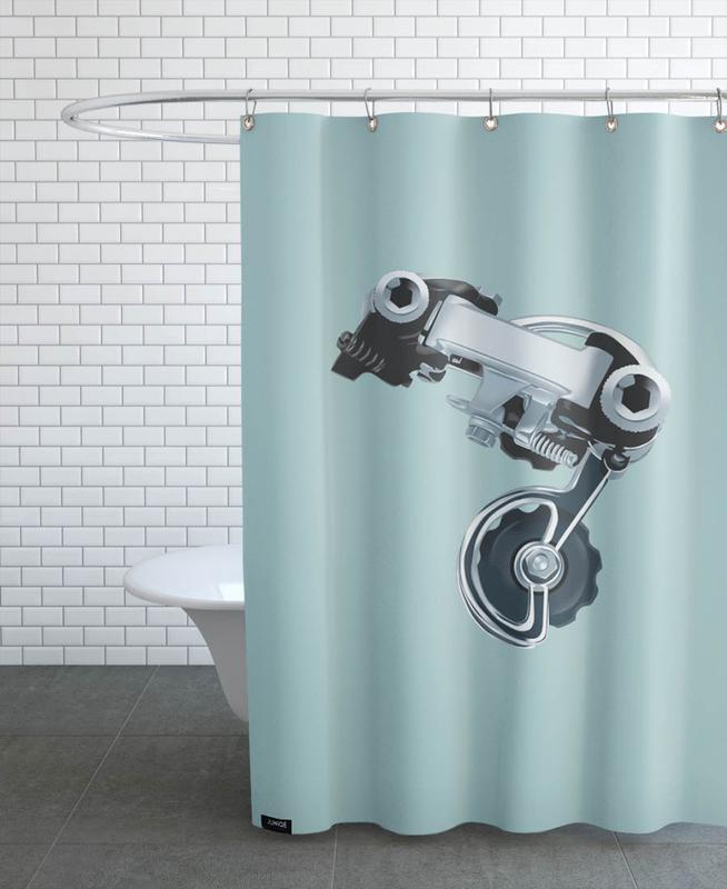 Campa III Shower Curtain