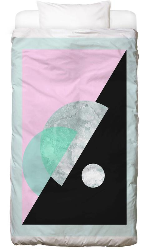 Pastel Moon Geometric Bed Linen