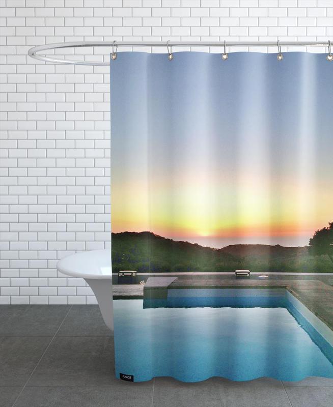 La Pool -Duschvorhang
