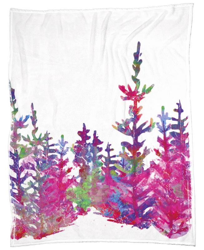 Trees Fleecedecke | Heimtextilien > Decken und Kissen > Mehr-Decken | Mehrfarbig