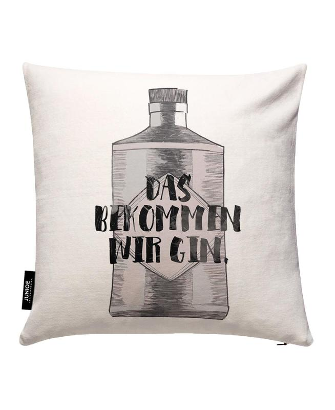 Gin Cushion Cover