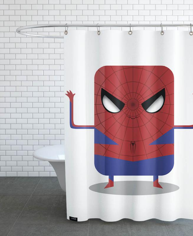 Spiderman Duschvorhang   Bad > Duschen > Duschvorhänge