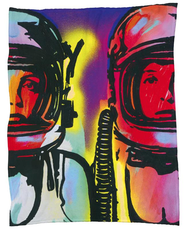 Astronauts -Fleecedecke
