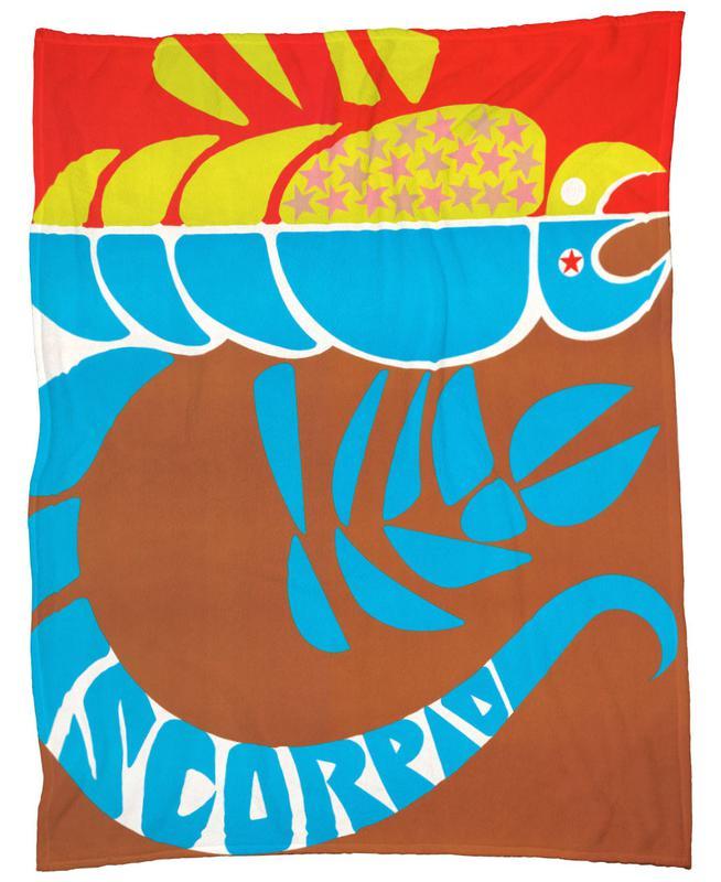 Scorpio Fleece Blanket