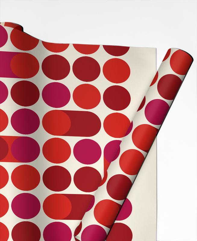 Red Bleep papier cadeau