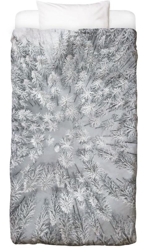 Snowy Forests Linge de lit
