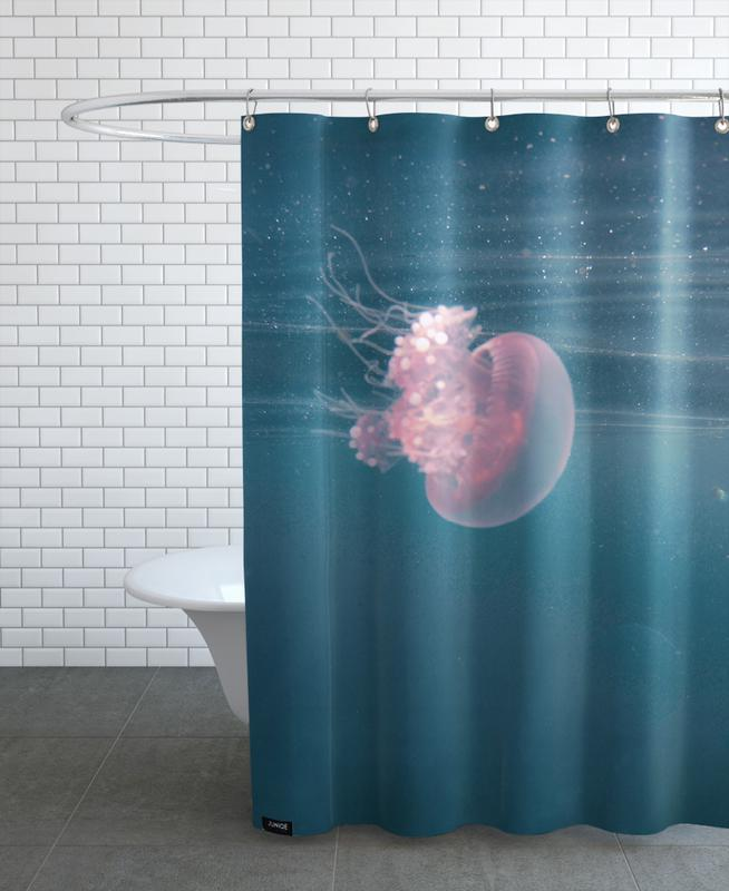 Dancing in the Water Shower Curtain