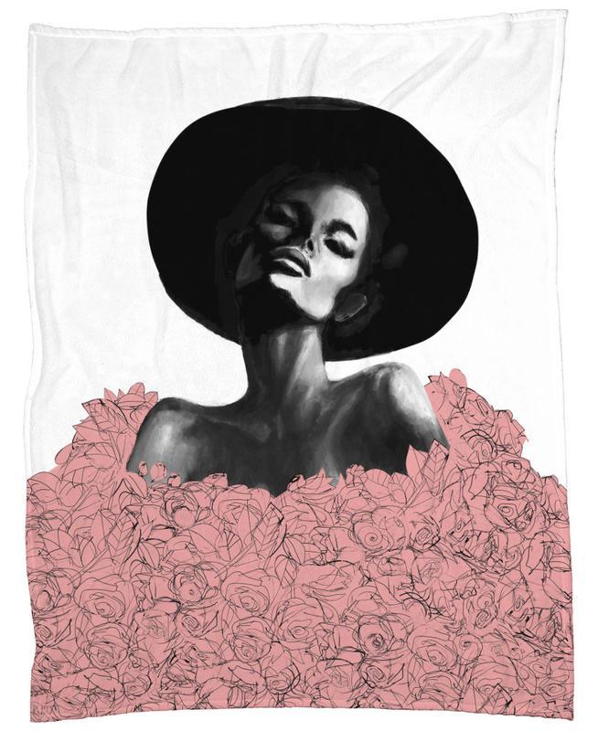 Pink Swim Fleece Blanket
