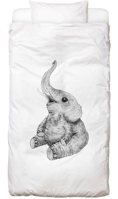 Elephant Kids' Bedding