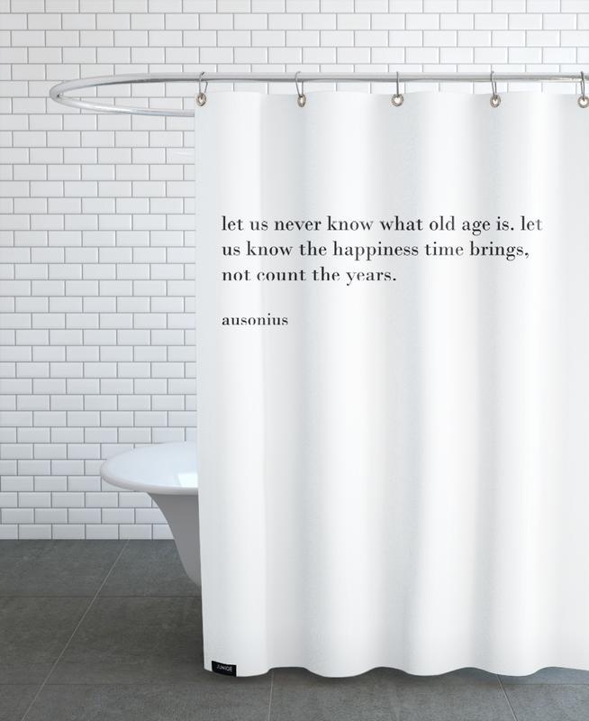 ausonius Duschvorhang   Bad > Duschen > Duschvorhänge   Mehrfarbig   Polyester