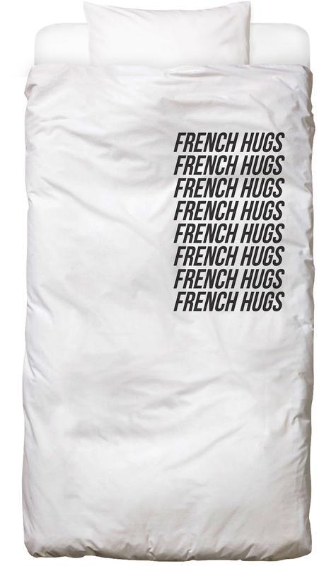 french hugs Bettwäsche