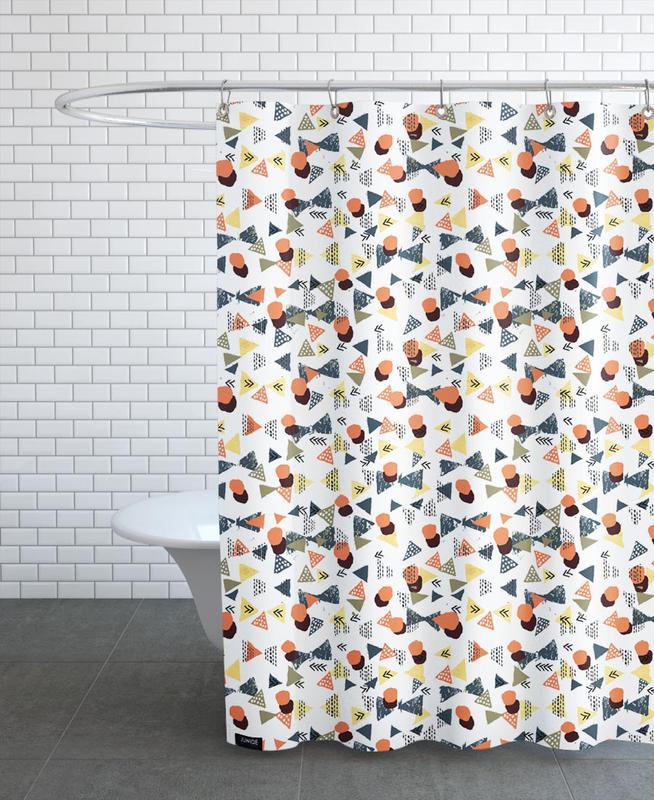 Laange Duschvorhang | Bad > Duschen > Duschvorhänge | Mehrfarbig | Polyester