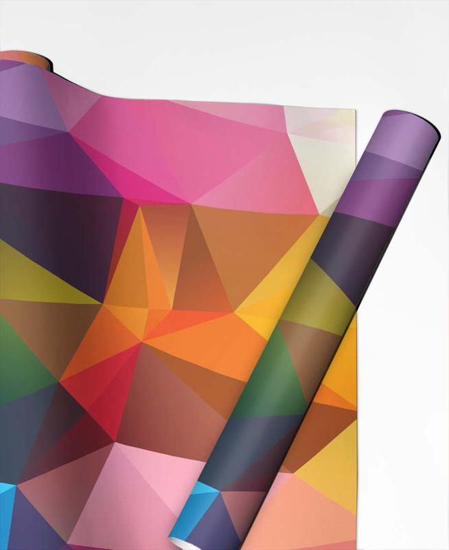 Geometric View Geschenkpapier | Weihnachten > Geschenkideen | Mehrfarbig