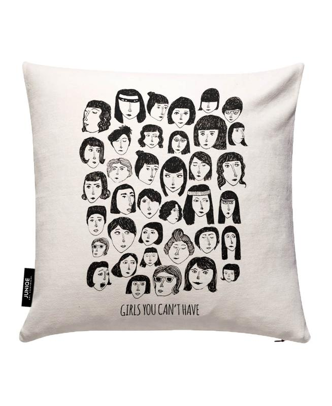 Girls You Can't Have Cushion Cover