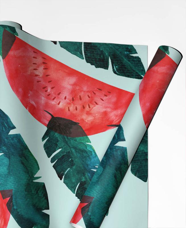 Melon Pattern Geschenkpapier | Weihnachten > Geschenkideen