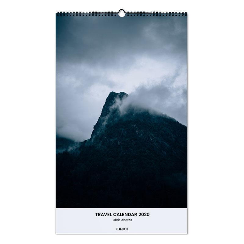 Travel Calendar 2020 - Chris Abatzis calendrier mural