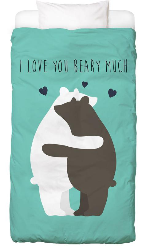 I Love You Beary Much Linge de lit