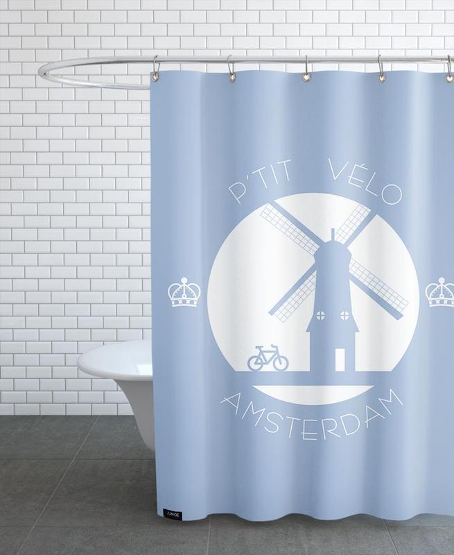 Amsterdam bleu Duschvorhang   Bad > Duschen > Duschvorhänge