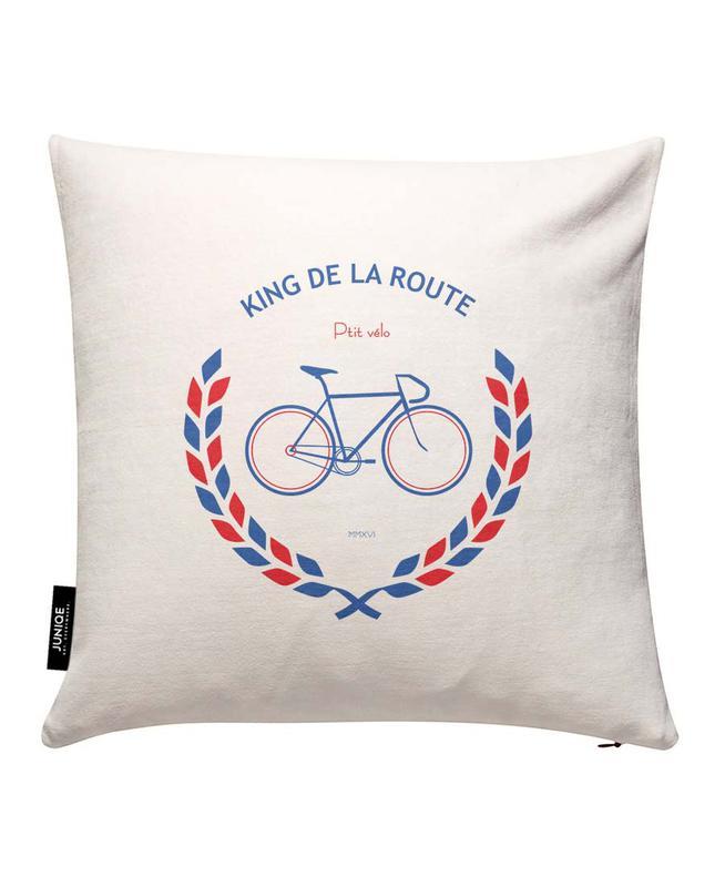 King Bleu Rouge Cushion Cover