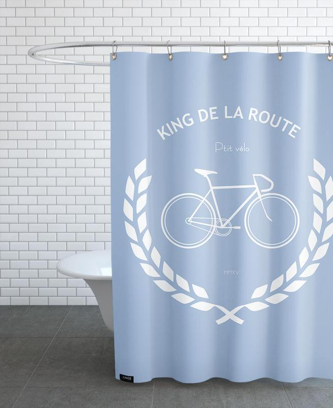 King de la route Shower Curtain