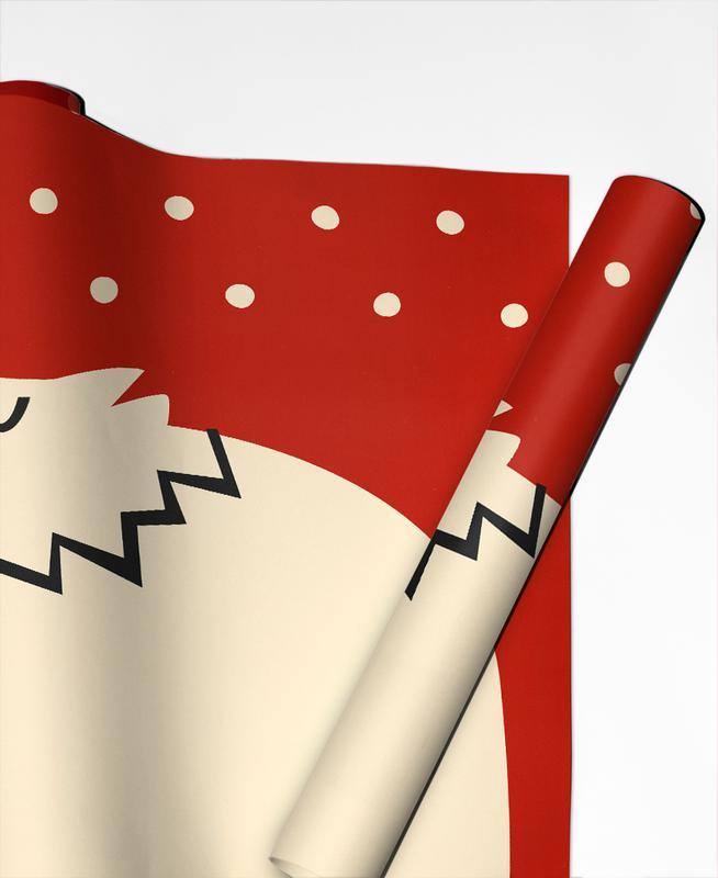 Polar Bear Geschenkpapier | Weihnachten > Geschenkideen | Mehrfarbig