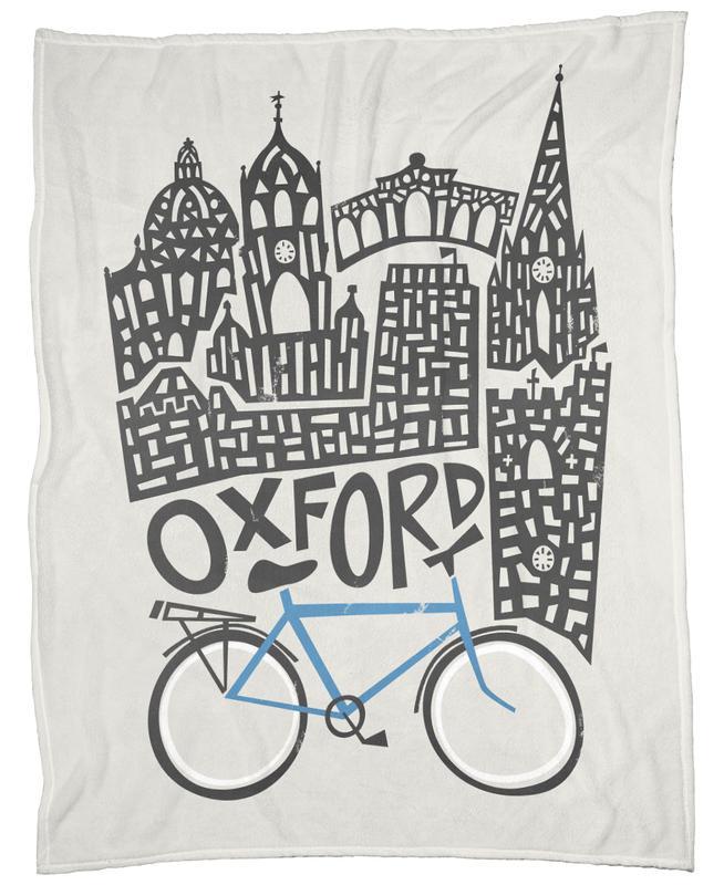 Oxford Fleecedecke | Heimtextilien > Decken und Kissen > Mehr-Decken | Mehrfarbig