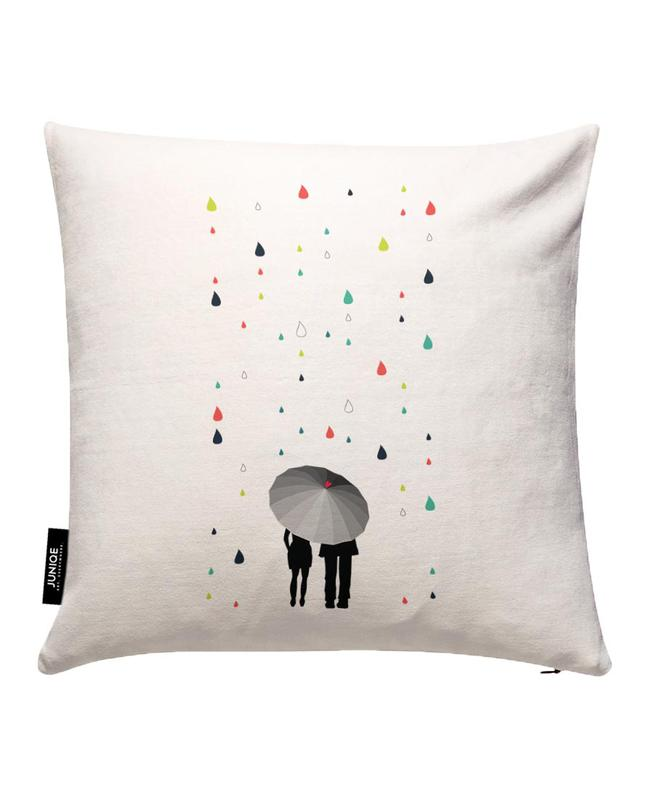 Rainy Days - Come Under My Umbrella - Col Cushion Cover