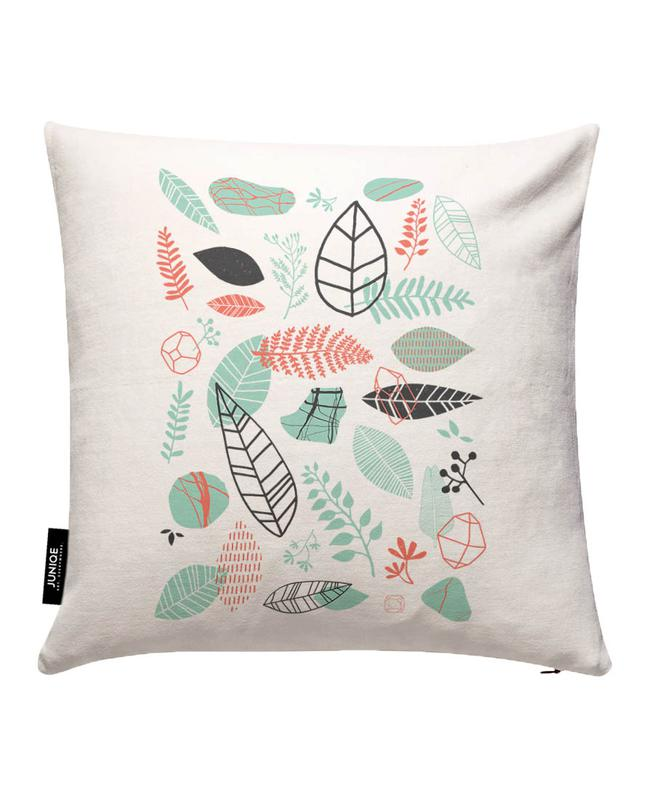 Nature is Taking Over Mint Cushion Cover