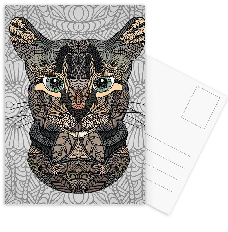 Tabby Cat Postcard Set