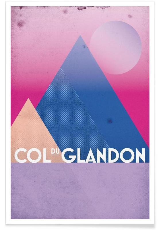 Col du Glandon Poster